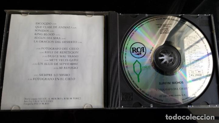 CDs de Música: CD SURFIN' BICHOS: FOTOGRAFO DEL CIELO - Foto 3 - 111439579