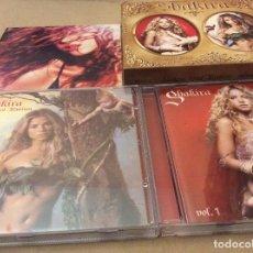 CDs de Música: SHAKIRA CAJA CON FIJACION ORAL 1 Y 2 + DVD FIJACIÓN ORAL, ORAL FIXATION. 2006.. Lote 125865359