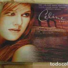 CDs de Música: CELINE DION – MY HEART WILL GO ON (LOVE THEME FROM 'TITANIC') (DANCE MIXES) - CDSINGLE 4 TEMAS. Lote 111470387