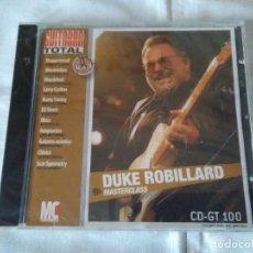 CDs de Música: 40-CD GUITARRA TOTAL , DUKE ROBILLARD, PRECINTADO. Lote 111503679
