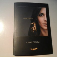 CDs de Música: CUCA ROSETA. A MAIS RARA VERDADE. CD DIGIPACK. EDICIÓN PROMOCIONAL. FADO. POP. PORTUGAL. MUY RARO. . Lote 111509231