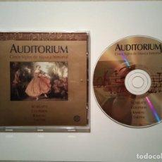 CDs de Música: CD ORIGINAL - SCARLATTI COUPERIN - AUDITORIUM - CINCO SIGLOS DE MUSICA INMORTAL. Lote 111547295
