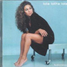 CDs de Música: LOLITA FLORES - LOLA, LOLITA, LOLA / CD WARNER MUSIC DE 2001 , BUEN ESTADO , RF-476. Lote 111570191