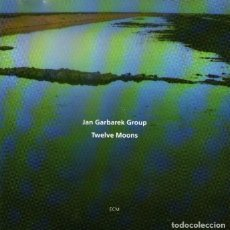 CDs de Música: JAN GARBAREK GROUP - TWELVE MOONS - CD ALBUM - 10 TRACKS - ECM RECORDS 1993. Lote 111579683