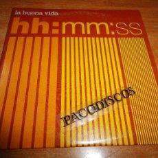 CDs de Música: LA BUENA VIDA HORAS MINUTOS SEGUNDOS CD SINGLE PROMOCIONAL CARTON JAVIER ARAMBURU MUSICA INDIE. Lote 245411475