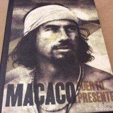 CDs de Música: MACACO. PUERTO PRESENTE. CD + DVD+ LIBRETO. 2009.. Lote 111646339