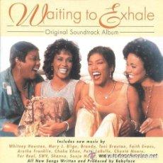 CDs de Música: WAITING TO EXHALE - ORIGINAL SOUNDTRACK (BANDA SONORA)- WHITNEY HOUSTON - PATTI LABELLE- CD 1995. Lote 111664491