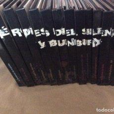 CDs de Música: HÉROES DEL SILENCIO Y BUNBURY. COLECCIÓN DE 15 DISCOS Y DVD, LIBROS EDITADOS POR EL PAÍS. 2007.. Lote 111675935