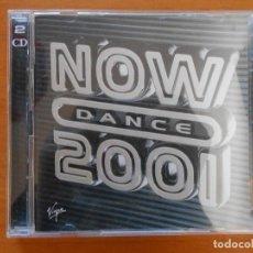 CDs de Música: CD NOW DANCE 2001 (2 CD) (G3). Lote 111705143