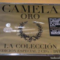 CDs de Música: CAMELA, ORO, LA COLECIÓN, EDICIÓN ESPECIAL CON DOS CD + UN DVD, ERCOM. Lote 121986142