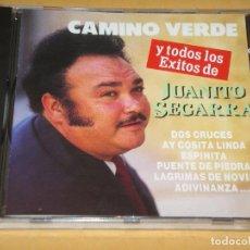 CDs de Música: JUANITO SEGARRA, CAMINO VERDE Y TODOS LOS EXITOS, CD PRECINTADO. Lote 111716599