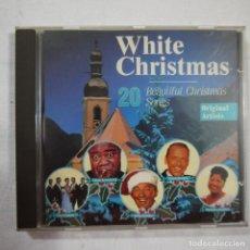 CDs de Música: WHITE CHRISTMAS - 20 BEATIFUL CHRISTMAS SONGS - ORIGINAL ARTISTS - CD 1992 . Lote 111752479