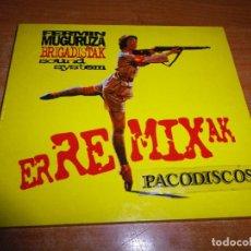 CDs de Música: FERMIN MUGURUZA BRIGADISTAK SOUND SYSTEM ER REMIX AK CD ALBUM DIGIPACK 1999 ELECTRONIC 8 TEMAS. Lote 111801687