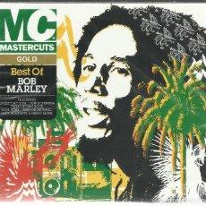 CDs de Música: BOB MARLEY - BEST OF - CD DOBLE MASTERCUTS 2007 NUEVO. Lote 111848659