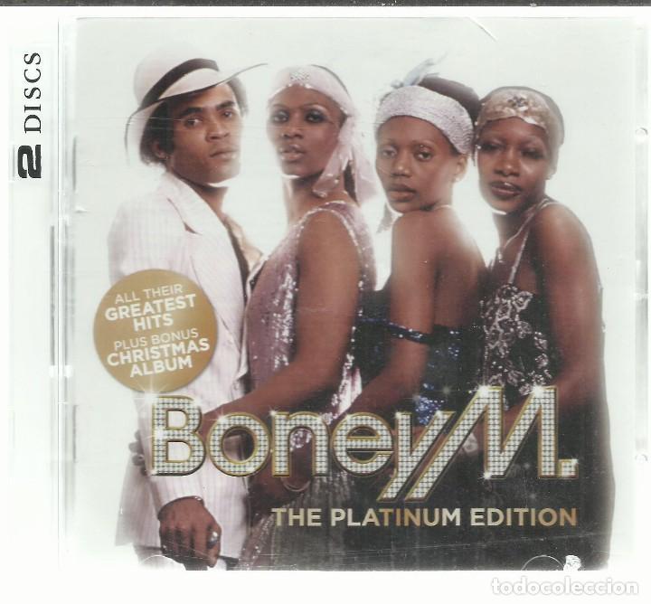Boney M Christmas Album.Boney M The Platinum Edition Cd Doble Sony Sold