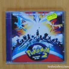 CD de Música: VARIOS - POKEMON 2 THE POWER OF ONE - CD. Lote 111862491