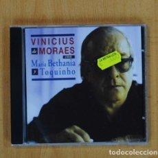 CDs de Música: VINICIUS MORAES - VINICIUS MORAES CON MARIA BETHANIA Y TOQUINHO - CD. Lote 111864651