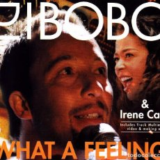 CDs de Musique: DJ BOBO AND IRENE CARA - WHAT A FEELING CD SINGLE 5 TEMAS 2001. Lote 111890039