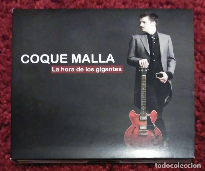 COQUE MALLA (LA HORA DE LOS GIGANTES) CD 2009 - LOS RONALDOS (Música - CD's Rock)