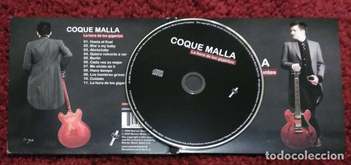 CDs de Música: COQUE MALLA (LA HORA DE LOS GIGANTES) CD 2009 - LOS RONALDOS - Foto 2 - 111904415