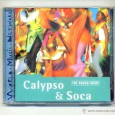 CD de Música: VARIOS-THE ROUGH GUIDE TO CALYPSO & SOCA (CD) THE MIGHTY SPARROW.... Lote 111956555