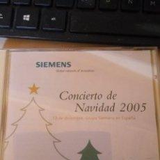 CDs de Música: CONCIERTO DE NAVIDAD 2005 - GRUPO SIEMENS ESPAÑA. Lote 111966903