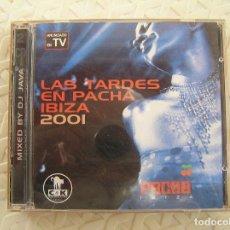 CDs de Música: LAS TARDES EN PACHA IBIZA 2001 - VENDETTA RECORDS 2001 - 2 CD'S - L -. Lote 111972511