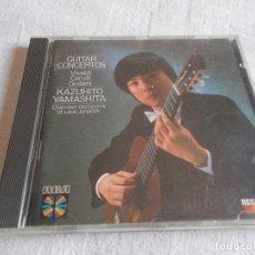 CDs de Música: KAZUHITO YAMASHITA GUITAR CONCIERTOS. Lote 111974627