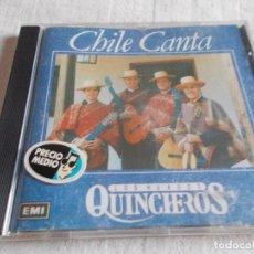 CDs de Música: CHILE CANTA LOS HUASOS QUINCHEROS . Lote 111975003