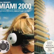 CDs de Música: MINISTRY OF SOUND MIAMI 2000 BY LENNY FONTANA. Lote 111986063