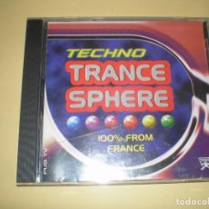 CDs de Música: CD TECHNO TRANCE SPHERE 1995 (VARIOS ARTISTAS). Lote 111992635