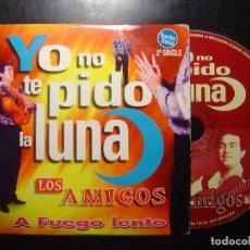 CDs de Música: CD PROMOCIONAL 1997 - LOS AMIGOS - YO NO TE PIDO LA LUNA - DIVUCSA. Lote 111995795