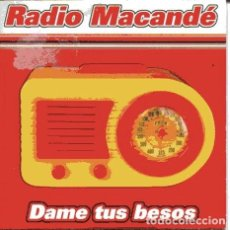 CDs de Música: RADIO MACANDE / DAME TUS BESOS (CD SINGLE CARTON PROMO 2002). Lote 111998199