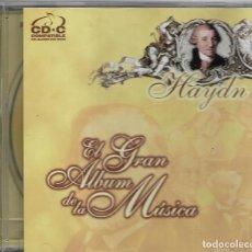 CDs de Música: == CD58 - EL GRAN ALBUM DE LA MUSICA - HAYDN. Lote 112066123
