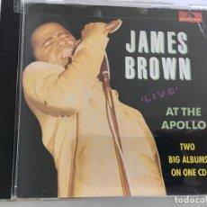 CDs de Música: CD JAMES BROWN-AT THE APOLO. Lote 112077919