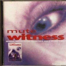 CDs de Música: MUTE WITNESS / WILBERT HIRSCH CD BSO. Lote 112094467