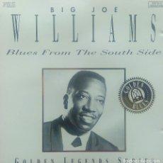 CDs de Música: BIG JOE WILLIAMS - BLUES FROM THE SOUTH SIDE - CD. Lote 112149219
