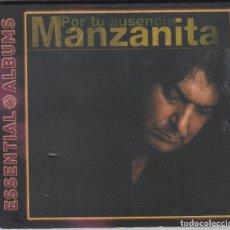CDs de Música: MANZANITA CD POR TU AUSENCIA 2008 DIGIPACK. Lote 112280507