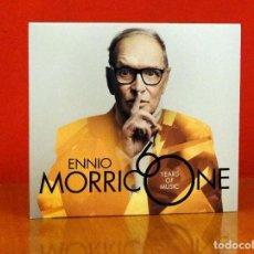 CDs de Música: ENNIO MORRICONE 60 YEARS OF MUSIC 2017 CD NUEVO. Lote 211627474