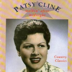 CDs de Música: PATSY CLINE - WALKIN' AFTER MIDNIGHT - COUNTRY CLASSICS - CD ALBUM - 28 TRACKS - PRISM LEISURE 1989. Lote 112319015