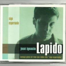 CDs de Música: JOSE IGNACIO LAPIDO. SIGO ESPERANDO (CD SINGLE 1999). Lote 139332976
