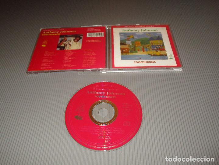 ANTHONY JOHNSON ( TOGETHERNESS ) - CD - CDSGP050 - PRESTIGE - REGGAE MASTERS SERIES (Música - CD's Reggae)