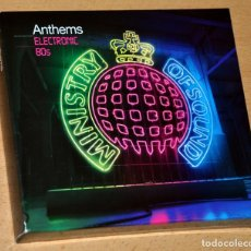 CDs de Música: TRIPLE CD BOX: MINISTRY OF SOUND - ANTHEMS ELECTRONIC 80S - 60 TRACKS - EMI / VIRGIN RECORDS 2009. Lote 112411043