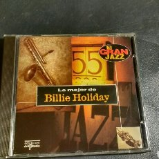 CDs de Música: CD BILLIE HOLIDAY. Lote 112414136