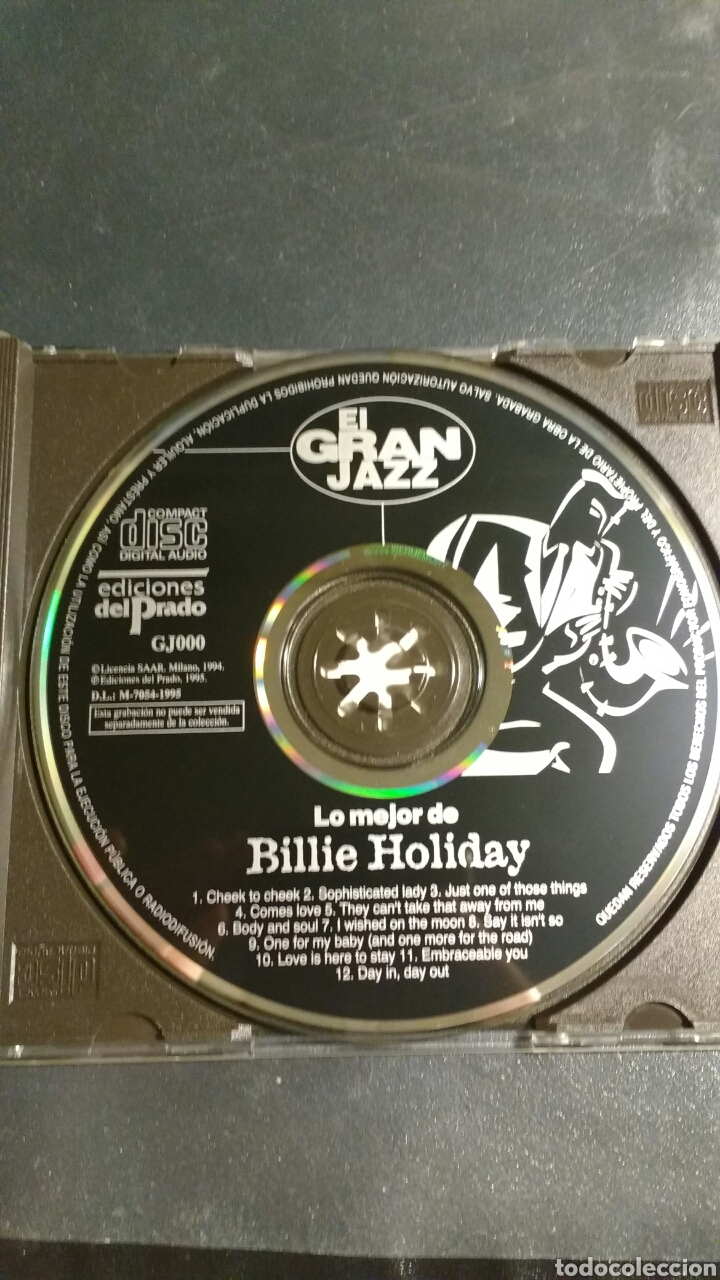 CDs de Música: Cd Billie Holiday - Foto 3 - 112414136