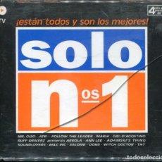 CD de Música: SOLO NOS.1 (ESTAN TODOS Y SON LOS MEJORES) 4 CDS VALE MUSIC 1999. Lote 112443123