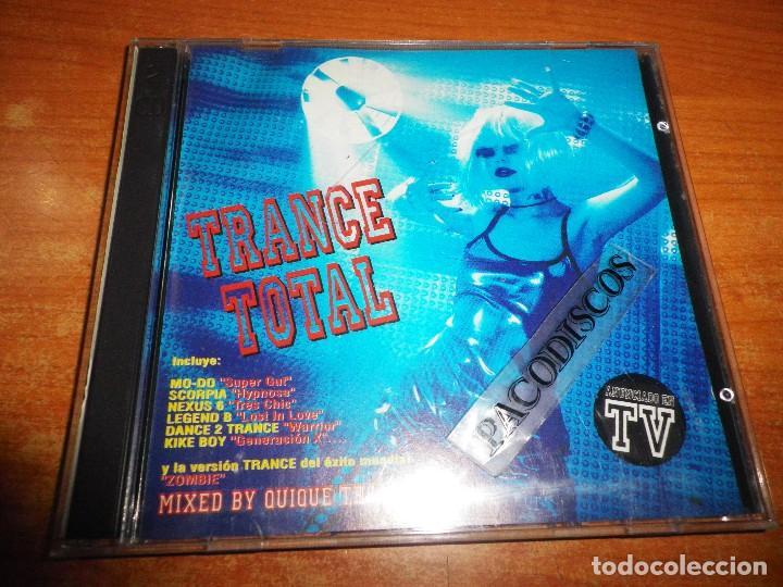 Trance total mixed quique tejada doble cd 1995 - Sold
