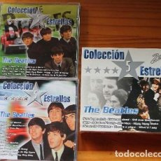 CDs de Música: THE BEATLES COLECCIÓN 5 ESTRELLAS BOX/CD ( 2 CDS) SPAIN 2003 VER FOTOS ADICIONALES . Lote 112601035