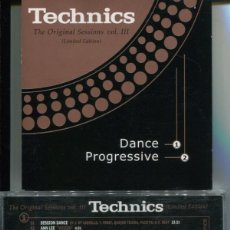 CDs de Música: TECHNICS THE ORIGINAL SESSIONS VOL III (LIMITED EDITION) - DANCE - PROGRESSIVE (DOBLE CD VALE MUSIC . Lote 112614579