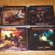 CDs de Música: CONDENADOS AL OLVIDO 4 CD SPANISH HEAVY-TRAILER-CAIN-WALHALLA-ZEUS-AVALANCH-MURO-SUBTERRANEO. Lote 113341498